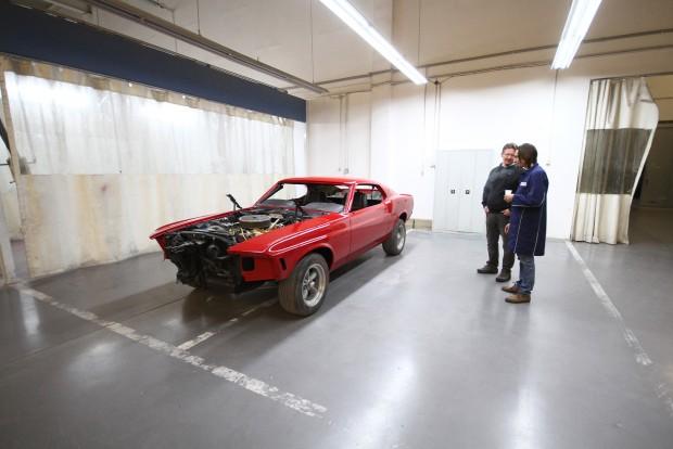 Valamikor Tiriac úré volt ez az autó, de eladta. Aztán később visszavásárolta