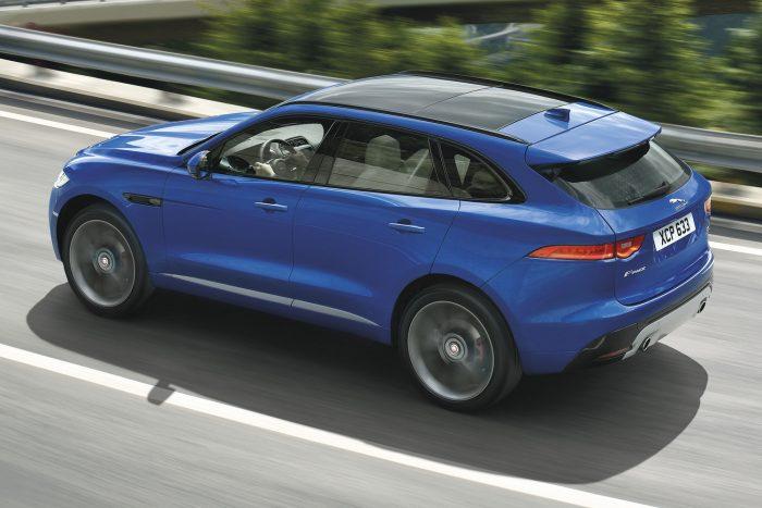 Az abszolút győztes: Jaguar F-Pace