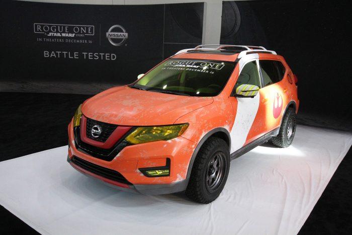 Az új Nissan X-Trail eddig ismeretlen volt Amerikában. Mondjuk ezzel a névvel az is marad, de Rogue néven hamarosan elkezdik árulni. Praktikusan a decemberben érkező Star Wars résszel egy időben