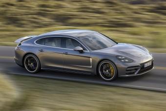 Porsche Panamera: új alapmotor, új csúcskivitel