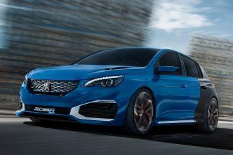 Hibrid sportautóval izmozna a Peugeot