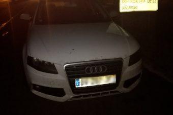 Tollal írta át az Audija forgalmiját, elkapták