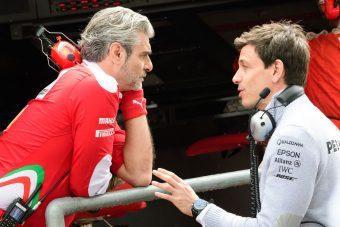 F1: Elég a Ferrari piszkálásából! - mondja a Merci