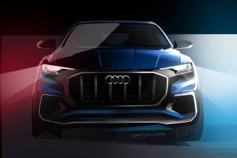 Jön az Audi Q8
