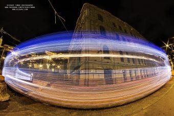Pazar fotókon a budapesti fényvillamos
