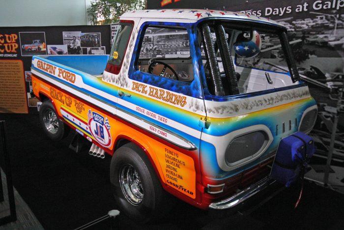1965-ös Econoline pickup, egyedi menetiránnyal