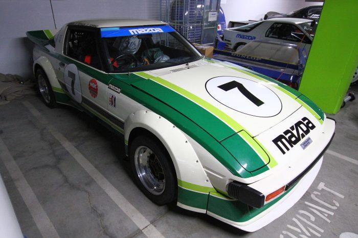 1979-es Daytona RX-7-es, 1146 köbcentis, 265 lóerős motor ral