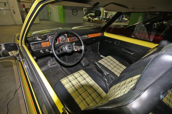 A Golf GTI is hasonló kockás kárpittal volt menő