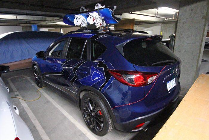 Havas tematikára alapozott Mazda szabadidőautó