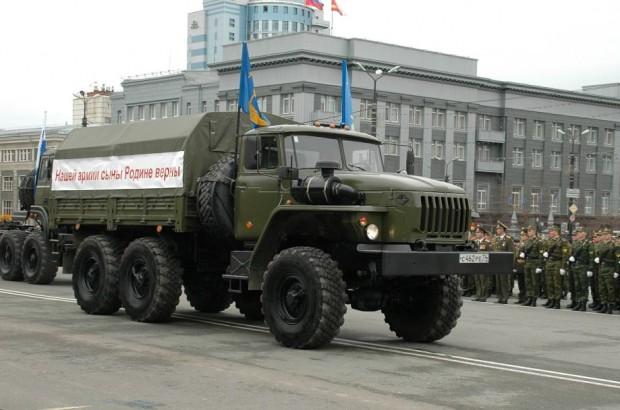 Ural 4320 katonai parádén.