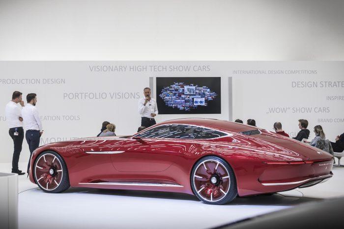 Le se tagadhatná a Mercedes-Maybach Vision 6, hogy luxusautónak született