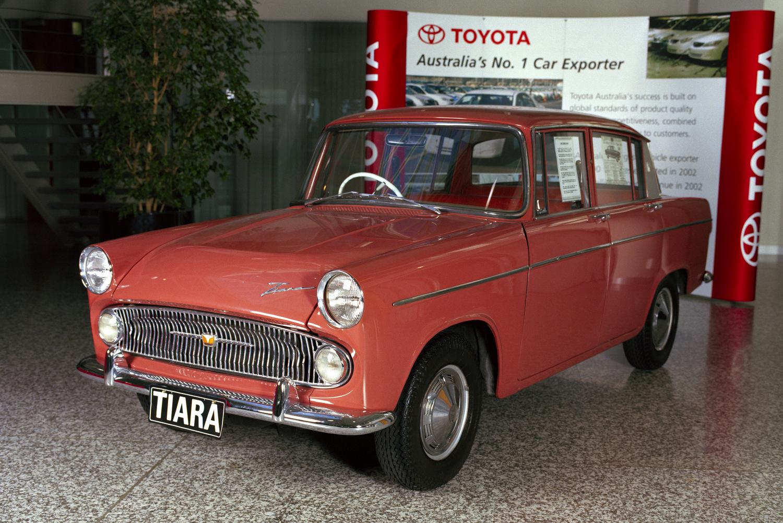 Toyota Tiara: 1963-ban ezzel indult a gyártás