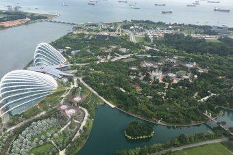 Szingapúr fentről – lélegzetelállító képek