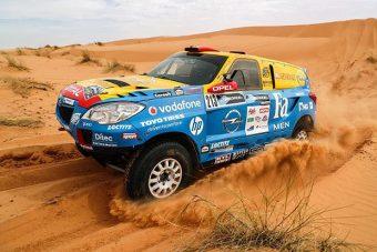 Szalayéknak fáj, hogy kiestek a Dakarról