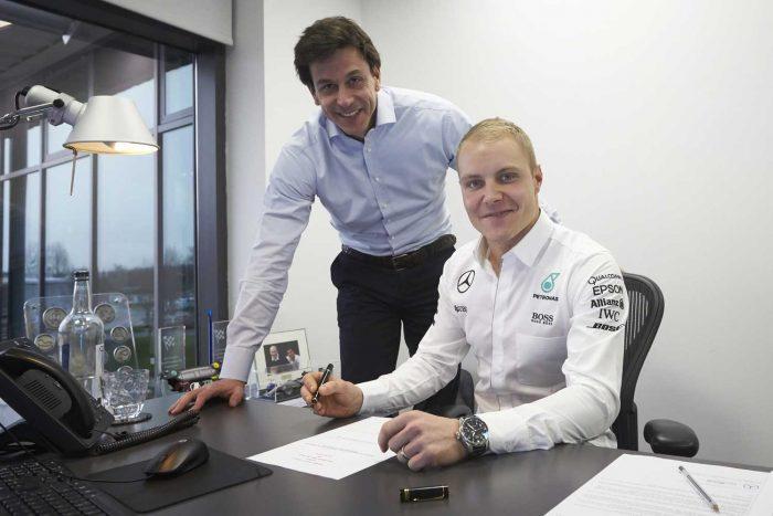 Valtteri Bottas, Mercedes AMG - a finn óriási lehetőséget kapott a bajnokcsapatnál, és a 8,5 millió dolláros bér sem hangzik rosszul.