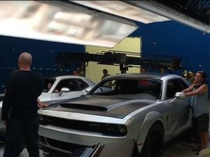Vin Diesel máris lebuktatta a brutális Dodge-ot?