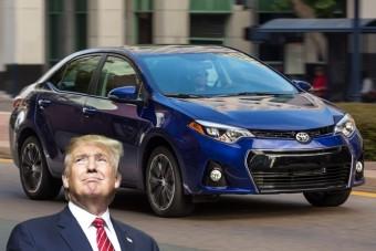 Nemet mondott Trumpnak a Toyota