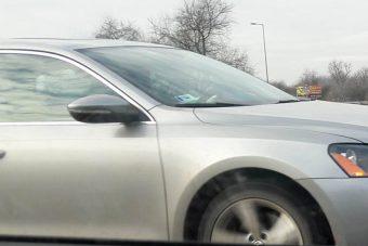 Meglepő autót fotóztak az M5-ösön