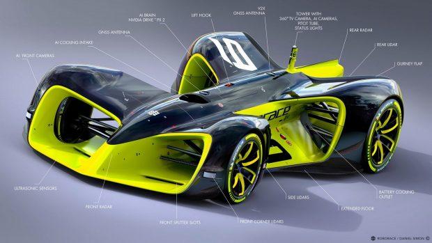 A tervek szerint valahogy így fognak kinézni a végleges versenyautók.