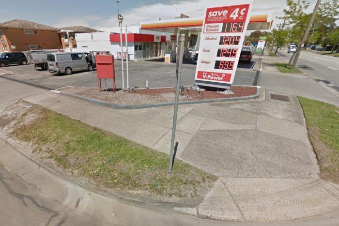 A megtámadott kút Melbourne külvárosában.