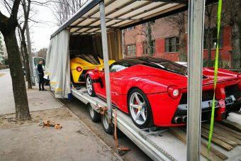 Alig több mint kétszáz darab készül ebből a Ferrariból, kettő máris Magyarországon van