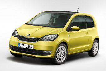 Frissült a Škoda Citigo