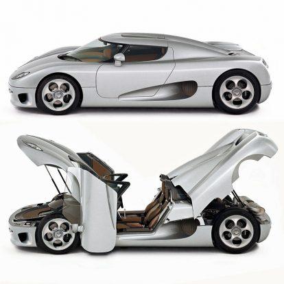 9, A Koenigsegg CC8S 2002-ből: a svéd szupersport-márkának mindig is erőteljes vonzódása volt a különleges tagatetőkhöz