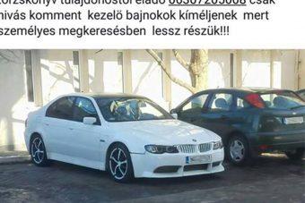 Hivatalosan is megvan Magyarország legtorzabb BMW-je