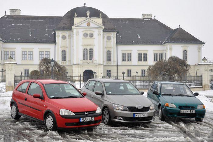 Szécsényben járunk, Nógrád megyében. A háttérben a Kubinyi Ferenc Múzeum