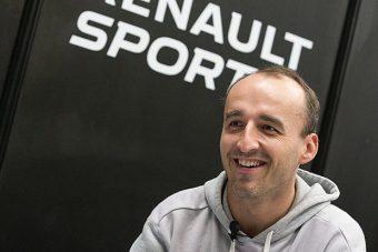 Kubica hat és fél év után újra Forma-1-est tesztel