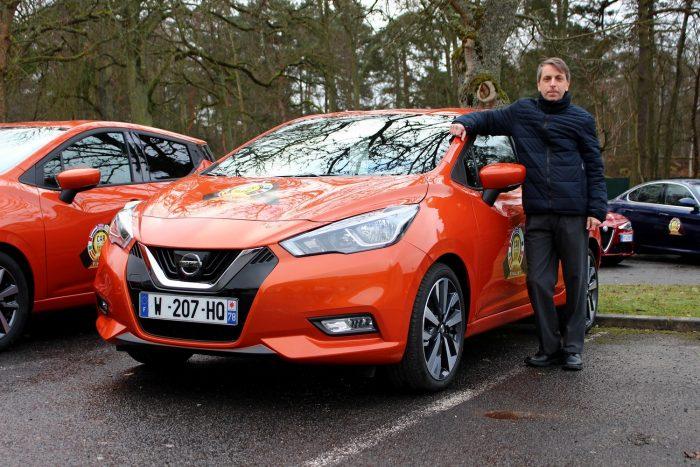 Új, dinamikus forma, nagy csomagtartó, jó vezethetőség és jó minőségű utastér jellemzi a Nissan Micrát