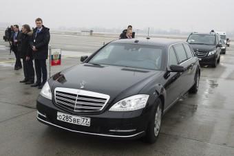 Itt vannak az első képek Putyin érkezéséről