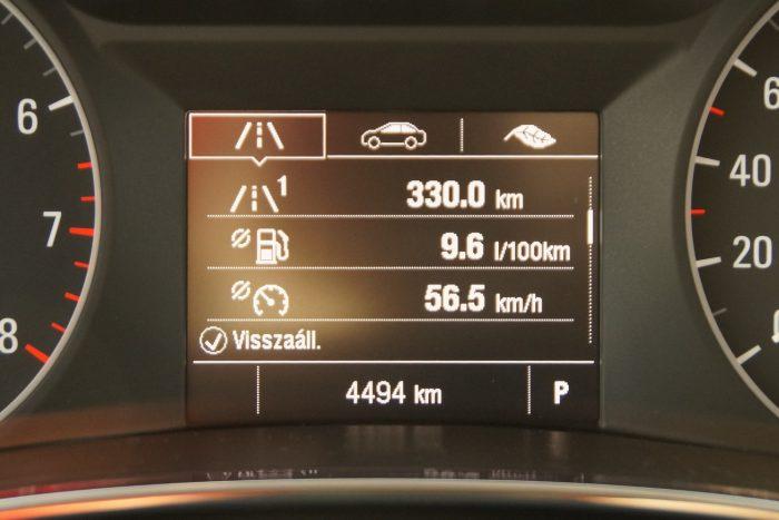 Normálisan használva, vegyes üzemben számítógép szerint 9,6, a valóságban 10 liter volt a fogyasztás százon