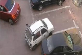 Ezt a parkolást már 14 millióan látták, nem csodálkozunk