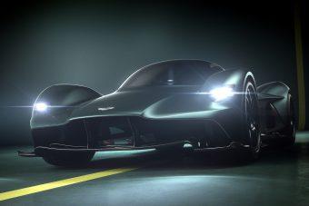 Aston Martin Valkyrie: valóra válik a vérszomjas varjú