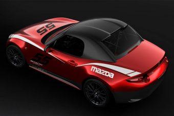Keménytetőt kapott a Mazda MX-5