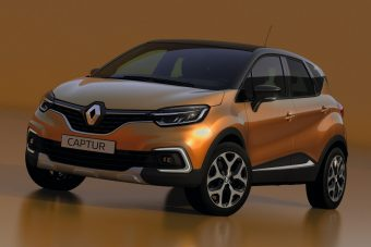 Renault Captur: tiszta bátyja!
