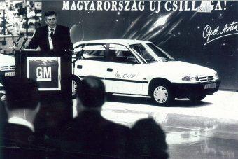 Huszonöt éves az első magyar Opel Astra