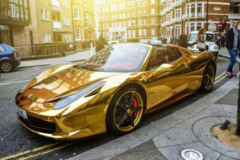 Ennél aranyosabb Ferrarit nem látsz ma