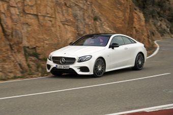 Pompázatos világ az új Mercedes E Coupéban