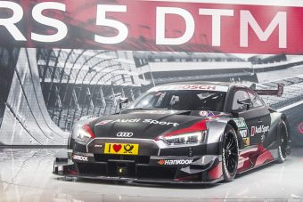 Audi RS 5 DTM: Vad oldalhajtás