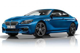 BMW 6 M Sport Limited Edition: Kék, kék, fekete