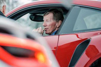 Kiállítással tiszteleg Walter Röhrl előtt a Porsche