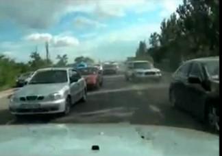 Totális őrület az ukrán utakon