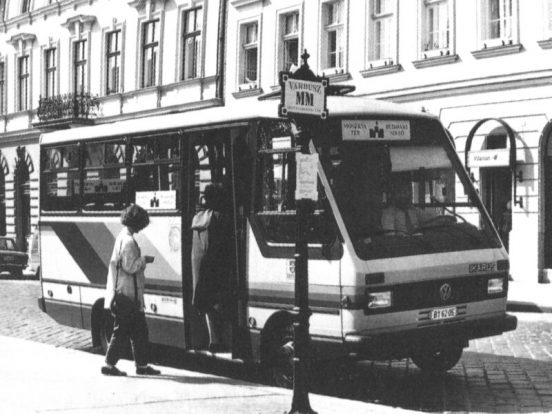 Ikarus 521-es korabeli fotón.