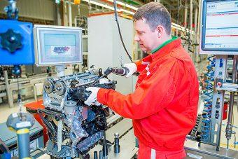 Egyedülálló motort fejlesztettek a győri Audinál