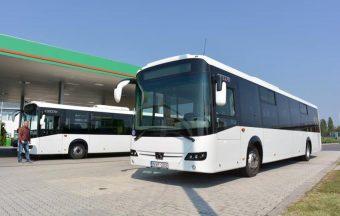 Új buszok tűntek fel Székesfehérváron és Tatabányán