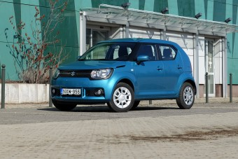 A legcukibb SUV: Suzuki Ignis