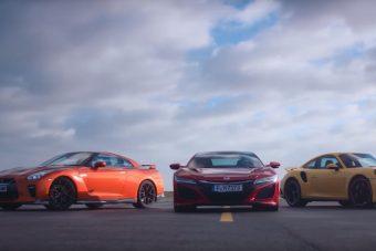 Gyorsulási verseny 240 km/óráig, három autóval