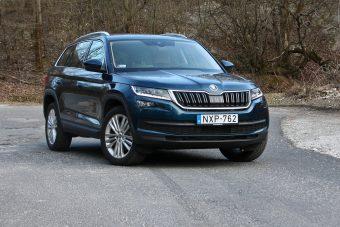 Hatalmas és okos SUV a Škodától